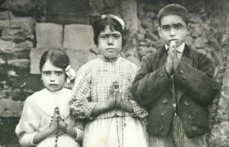 The Fatima Children Jucinta Lucia and Francisco